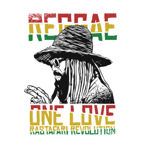 Reggae one Love T-Shirt Rastafari Revolution