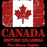 Canada Flag - Vintage Look