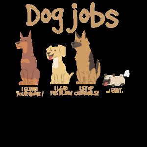 Hund Jobs Tierisches Haustier