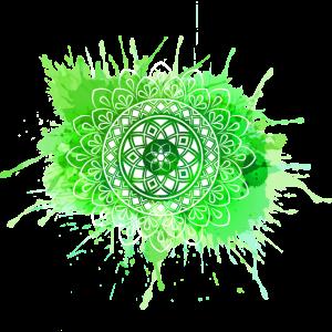 Mandala - Grün