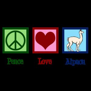 Friedensliebes-Alpaka