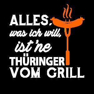 Thüringer vom Grill Grillwurst Grillen Bratwurst