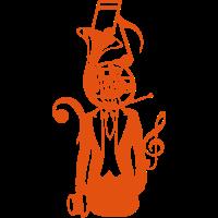 Charakter Horn suit Kopf