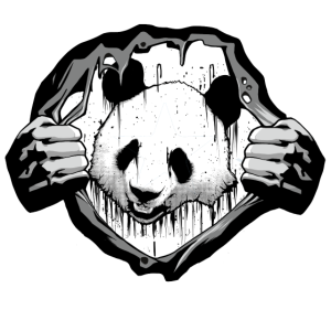 Horror dirty Panda ,Halloween Party Shirt,Ugly Fun