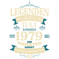Legenden wurden im Juli 1979 geboren