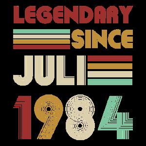 Legendary Since Juli 1984