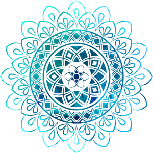 Mandala - Blau