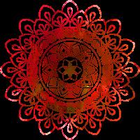 Mandala - Rot