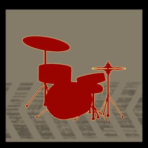 Schlagzeug Retro