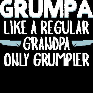Grumpa - Definition muerrischer Opa Großvater