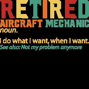 Retired - Definition Rentner Ruhestand