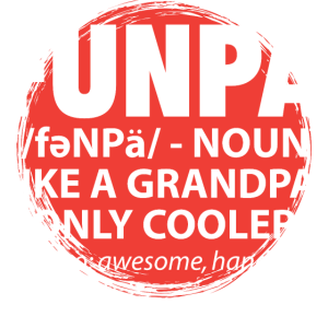 Funpa - lustiger Opa Großvater