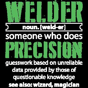Welder - Definition Schweißer