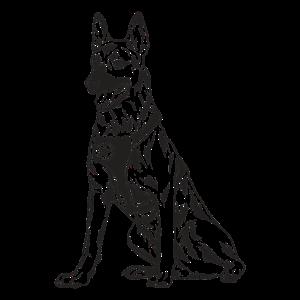 Deutscher Schäferhund Polizeihund