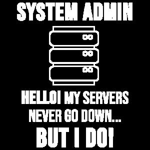 System Admin Administrator Server Geschenk