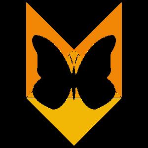 Schmetterling Fliegend