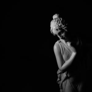 Skulptur Antik Figur