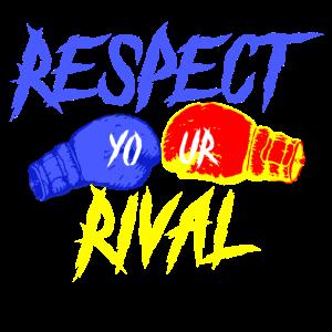 RESPECT YOUR RIVAL Boxen Geschenk