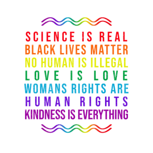 SCIENCE IS REALPRIDE - LGBT