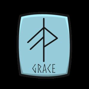 Grace Rune Anmut Gunst