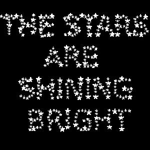 The Stars are shining bright Geschenkidee