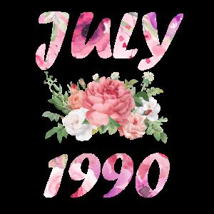Juli 1990 Geburtsjahr Geburtstag Spruch Geschenk