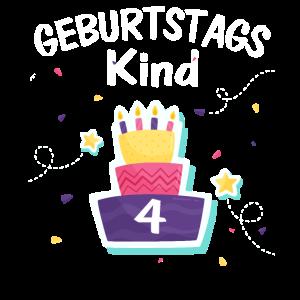 4. Geburtstag - Geburtstagskind