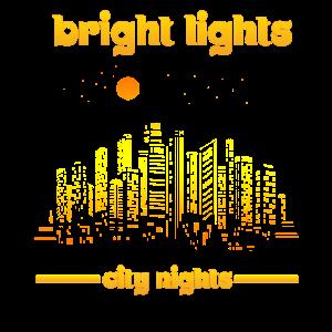 Skyline City Lichterketten