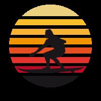 surfer sonnenuntergang