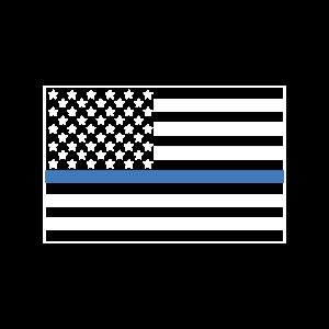 Polizei Thin Blue Line