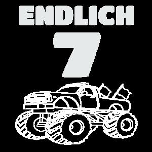 7ter Geburtstag Gechenkidee