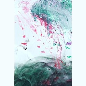 Ocean Ink - Alcohol Ink Abstract Modern