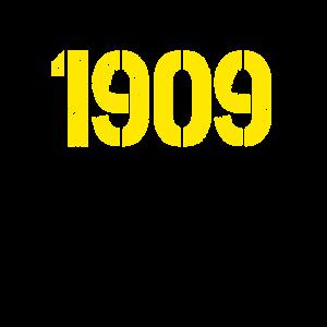 Dortmund Südtribüne Süd 1909 Westfalen schwarzgelb