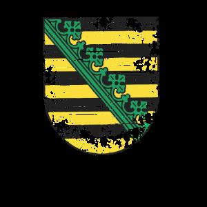 Saschen Wappen