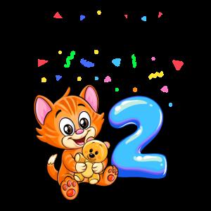 Happy Birthday Shirt - 2 Jahre