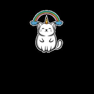 Regenbogen Magic Cat Katze Magische Magical