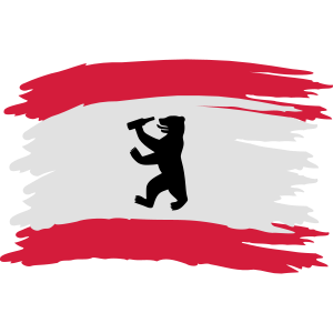 Berlin - Bierlin Flagge