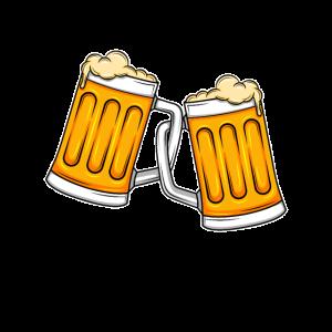 Bierkrug Bier Krüge Krug Biertrinker Illustration