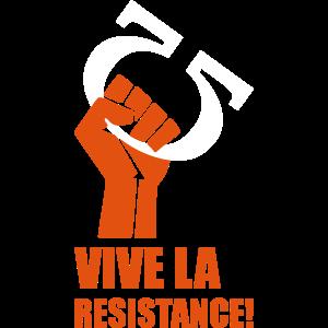 Vive la resistance Geek T-shirt