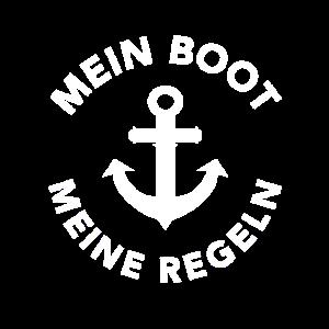 Mein Boot meine Regeln Seefahrt Boot Schiff Segeln