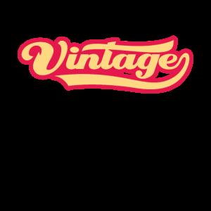 Vintage Schriftzug