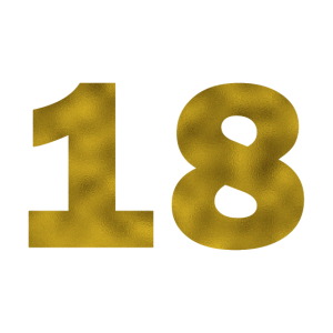 Geburtstag 18 Jahre