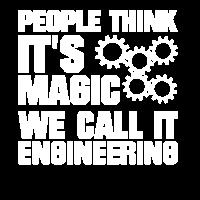 Ingenieur Spruch Magie Geschenk