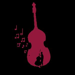 Kontrabass Orchester Streichinstrument Geschenk
