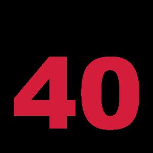Endlich 40!