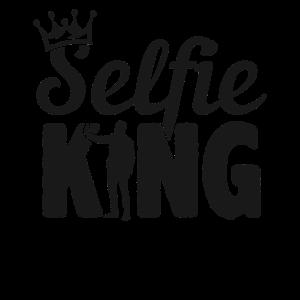 SelfieKing Black Krone Selfi Kamera Mann König