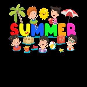 Sommer Kinder Ferien Urlaub Schule Kita