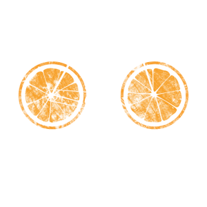 Fahrrad mit Orangen Reifen Shirt Design Used look
