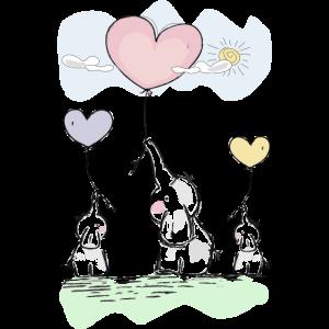 Suesse Elefanten