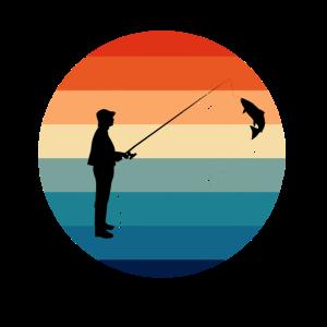 Fischer Fische Angler Angelrute Hobby Angeln Angel